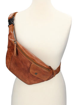 Bear Design Bodybag in Cognac