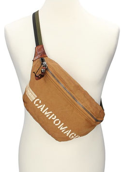 Campomaggi Bodybag aus Canvas in Cognac