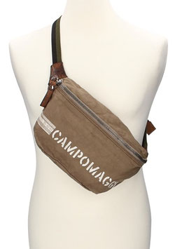 Campomaggi Bodybag aus Canvas in Beige