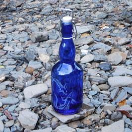 Bügelflasche mit Koi's