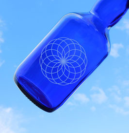 Bügelflasche mit Eternal Life Lotus