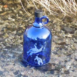 Henkelflasche mit Schildkröte