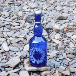 Bügelflasche mit Sonnenfalter