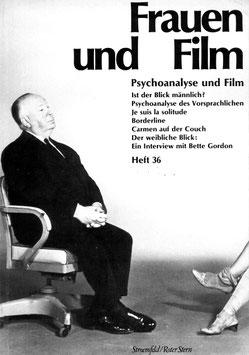 Frauen und Film, Heft 36: Psychoanalyse und Film