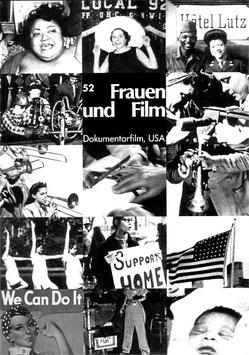 Frauen und Film, Heft 52: Dokumentarfilm, USA