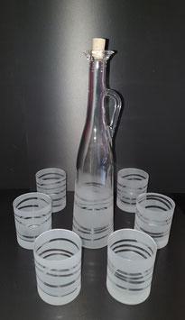 Wasser/WHiskyglas Set NEBANDA