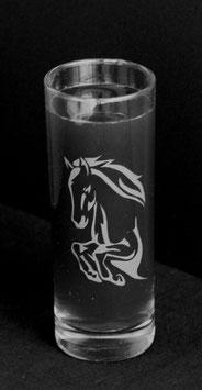 Longdrinkglas Springpferd