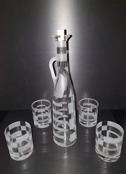 Wasser/Whiskyglas Set  QUADRA