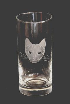 Longdrinkglas Katzenkopf