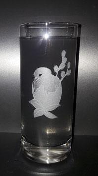 Longdrinkglas Küken im Ei