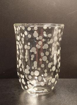 Latte-Macchiato-Glas CLARO Doppelwandig
