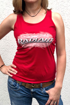 RADIANT Tank Top cherry red (women)