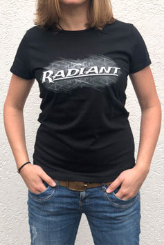 RADIANT T-Shirt black (women)