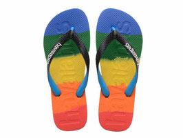 HAVAIANAS Logomania multicolor Rainbow