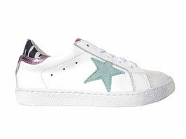 RONDINELLA Sneaker ster munt - OUTLET