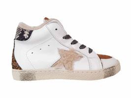 RONDINELLA Sneaker wit met ster
