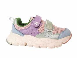 NATURINO Velcro sneaker Flower Mountain aqua