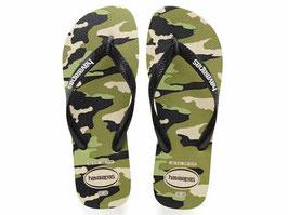 HAVAIANAS Top Camouflage Beige/Black