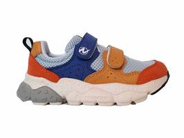 NATURINO Velcro sneaker Flower Mountain Blue