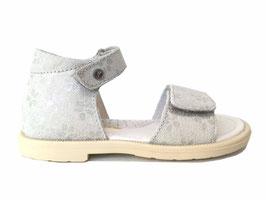 FALCOTTO Sandaal Glitter Fiori white - OUTLET -  LAATSTE PAAR