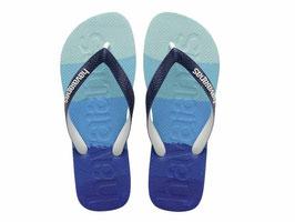 HAVAIANAS Logomania multicolor marine blue