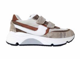 RONDINELLA Sneaker beige print - OUTLET
