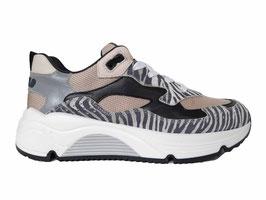 RONDINELLA Sneaker zebra beige - OUTLET