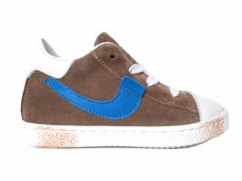 RONDINELLA Sneaker taupe blauw - OUTLET