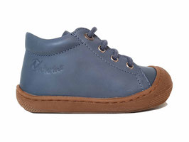NATURINO veterschoen Cocoon jeans blauw