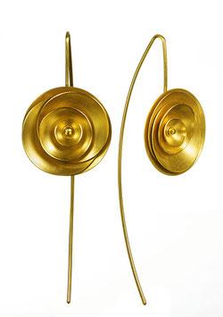 ORBIT ohrhänger goldplattiert*