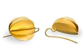 LAMPION ohrhänger goldplattiert