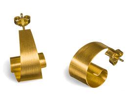 ONDINE ohrstecker goldplattiert*