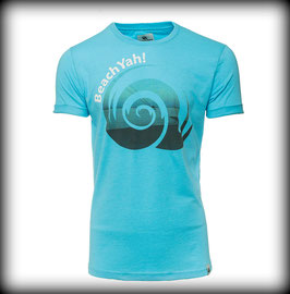 T-Shirt BRAND PELZERHAKEN // CYAN