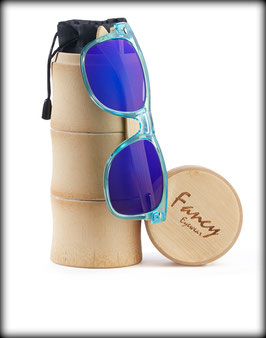 Fancy Eyewear – Transparent Blue / Blue