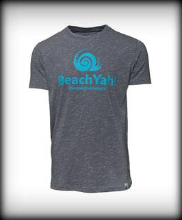 T-Shirt BRAND // Light Grey Melange