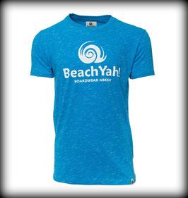 T-Shirt BRAND // Royal Blue Melange