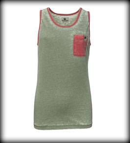 OUTBURNER TANK // Army Coral