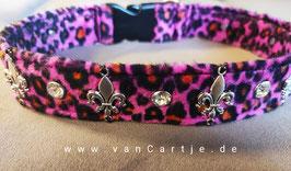 "Hundehalsband ""Fleur de Pink"""