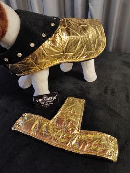 """Hundemantel Gr. M """"Golden Nugget"""""""