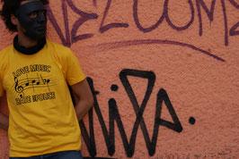 """T-Shirt (Gelb) Musiknoten """"ACAB"""""""