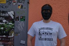 """T-Shirt (Grau) Musiknoten """"ACAB"""""""