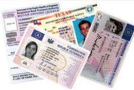 Kontrollfahrt für Ausländische Führerausweise mit Privatauto