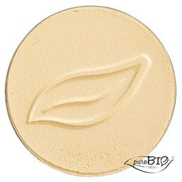 Ombretto giallo banana 11 Purobio cosmetics