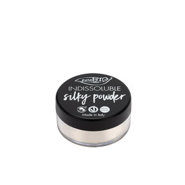 indissoluble silky powder purobio cosmetics