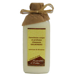 Emulsione corpo al gelsomino il giardino d'Ischia