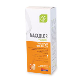 maxcolor vegetal shampoo pro color