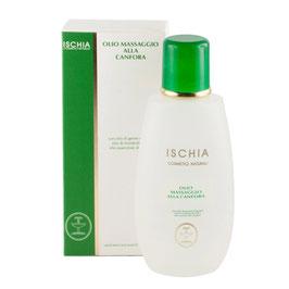 Olio massaggio alla canfora Ischia cosmetici naturali