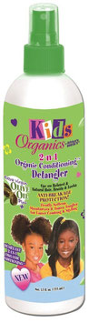 Africas Best Kids Organics 2-n-1 Organic Conditioning Detangler 355 ml.