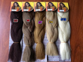 100% Kanekalon  Basic Braids(different shades of brown: 33,27,14,613