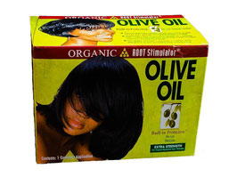 Organic Olive Oil Relaxer Kit - Extra Strength